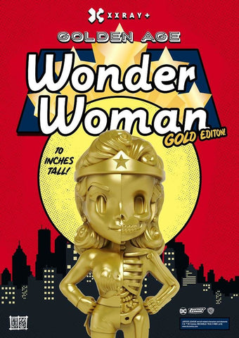XXRAY Wonder Woman Gold Limited Edition Signed by artist