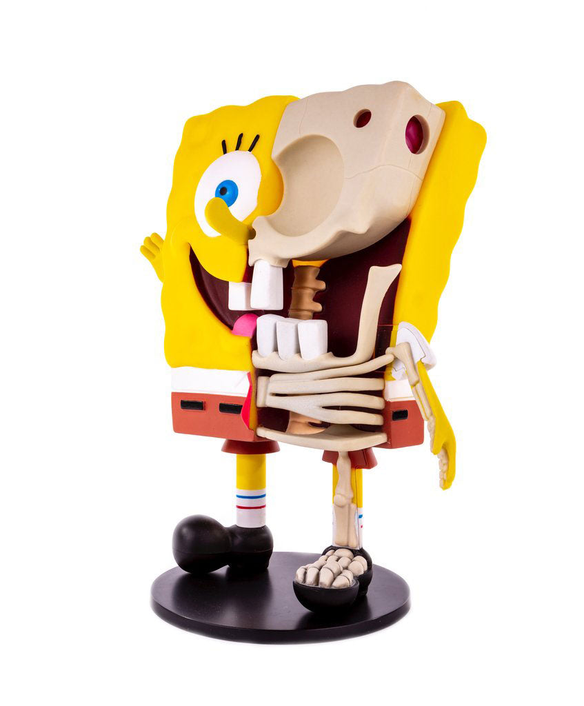 "Dissected 10"" Spongebob (Mondo) Limited Edition Figure (Signed)"