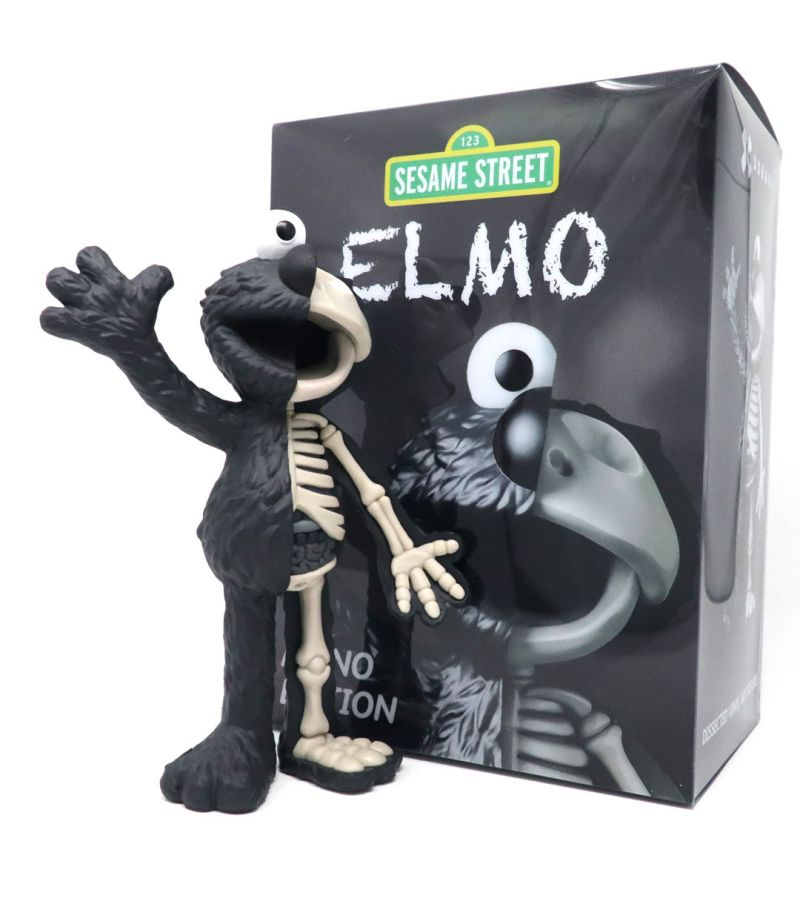 XXRAY PLUS Elmo Mono Edition Limited Edition Sculpture (Signed)