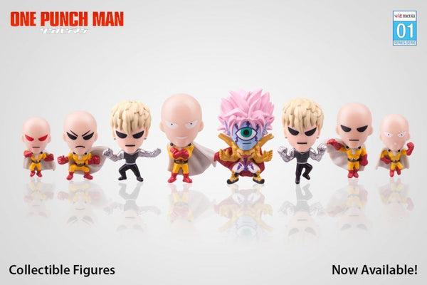 One Punch Man Mini Blind Bag Figures, Series 01