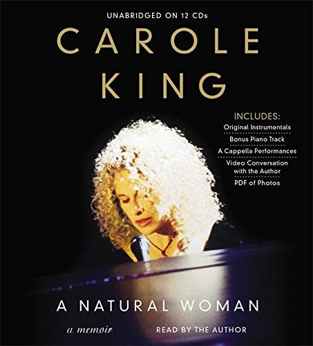 Carole King - A Natural Woman - Book on CD