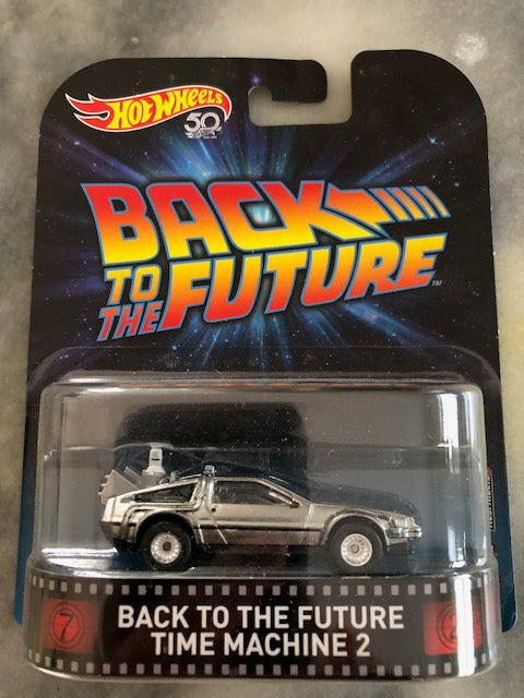 Hot Wheels Back To The Future Time Machine 2