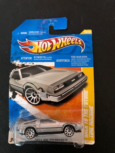 Hot Wheels BACK TO THE FUTURE TIME MACHINE, 2011 HW Premiere