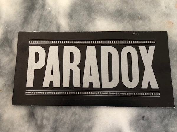 PARADOX Parking Passes