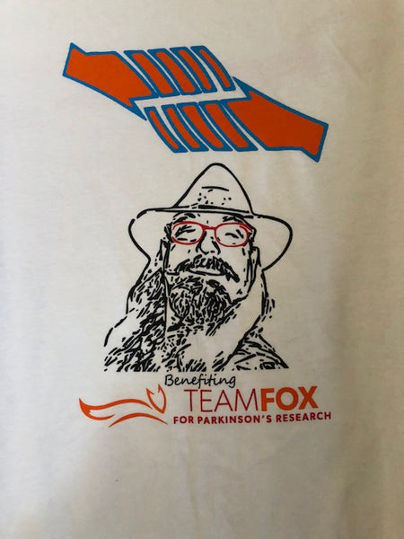 SIGNED Benefiting Fox Foundation/Dangerous BoB Tee-Shirt (red glasses)