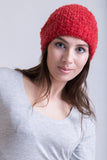 Red Hot Salsa Boucle Beanie