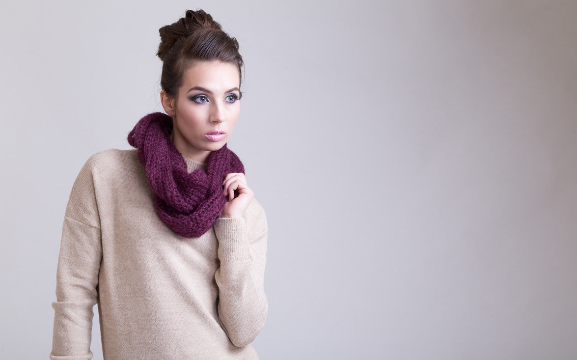 Beautifully stylish infinity scarves for all seasons.