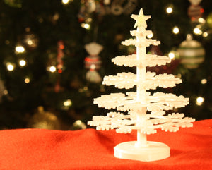 DIY Desktop Christmas Tree