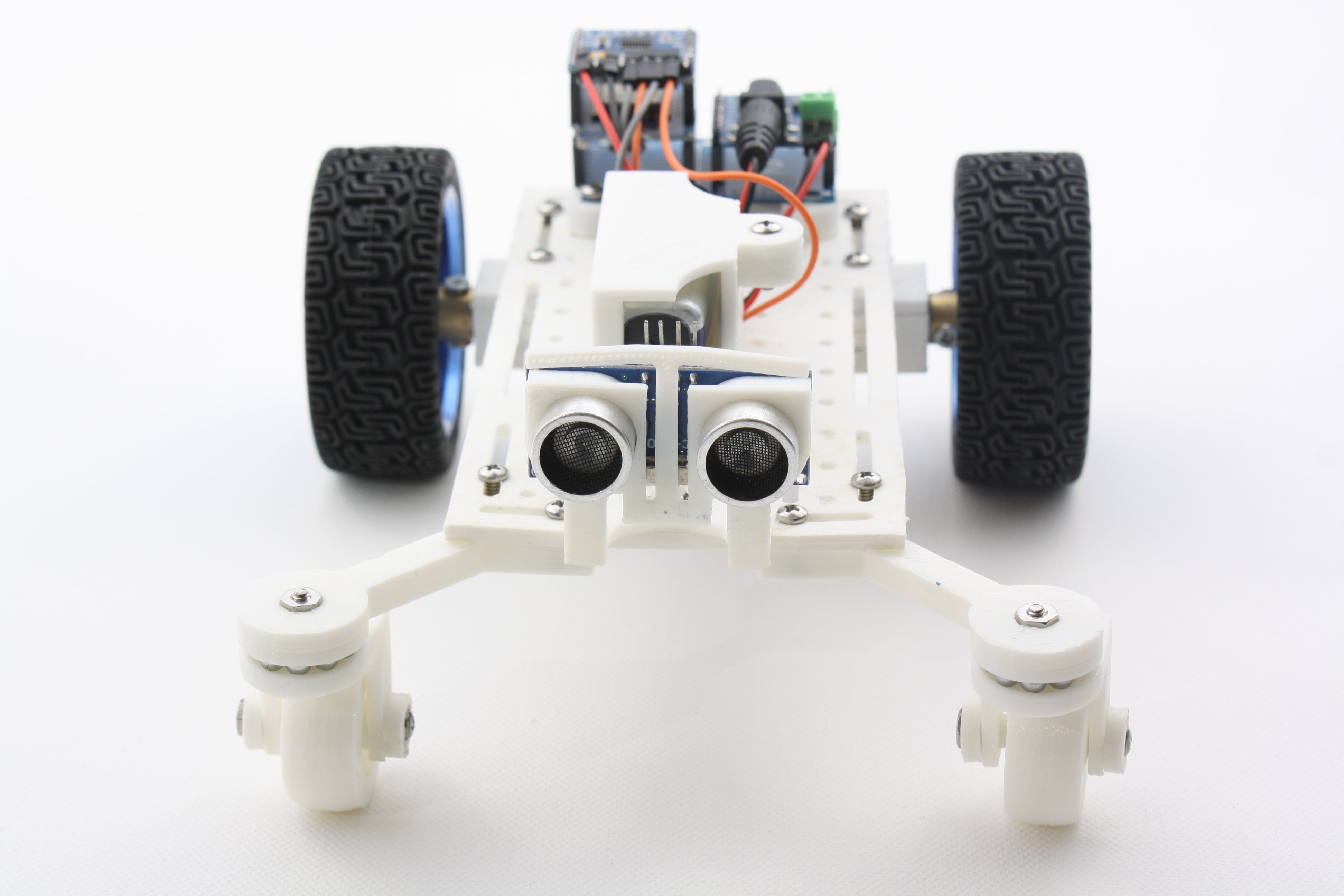 Mantis Robot Front View