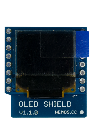 OLED Shield for WeMos D1 Mini