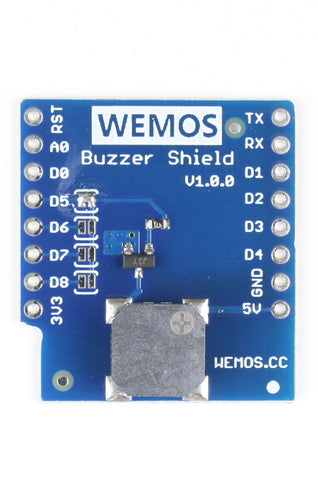 Buzzer Shield for WeMos D1 Mini