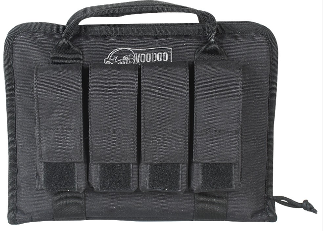 VOODOO Pistol Case with Mag Pouches