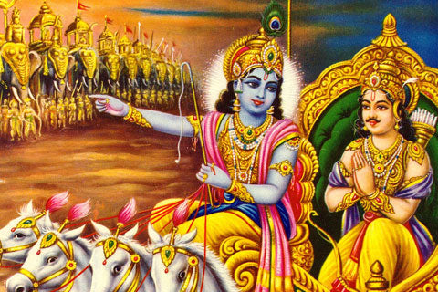 Bhagavad Gita 11.54 and Shringara Incense Sticks