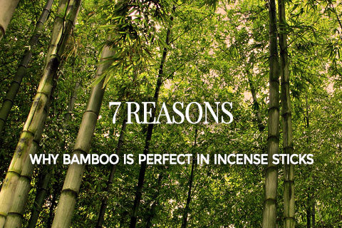 7 reasons why bamboo is perfect in incense sticks