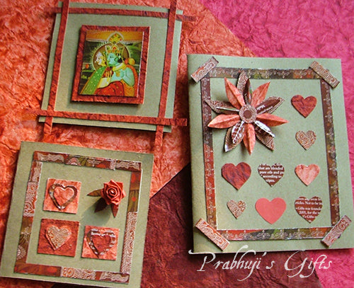 Create Valentines Day cards from Prabhujis Gifts Incense covers – Create Valentine Cards
