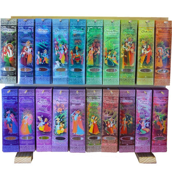 Display Rack Horizontal - 20  Fragrances Incense Sticks - 260 Packs