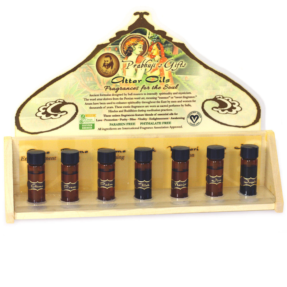 Perfume Tester Display: Perfume Attar Oils Testers And 21 Bottles