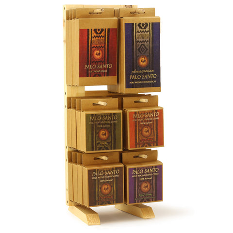 Display Rack Palo Santo Line Compact Rack Vertical - 24 Packages