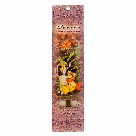 Sample Incense 2 Sticks - Yamuna - Vanilla, Copal, and Amber