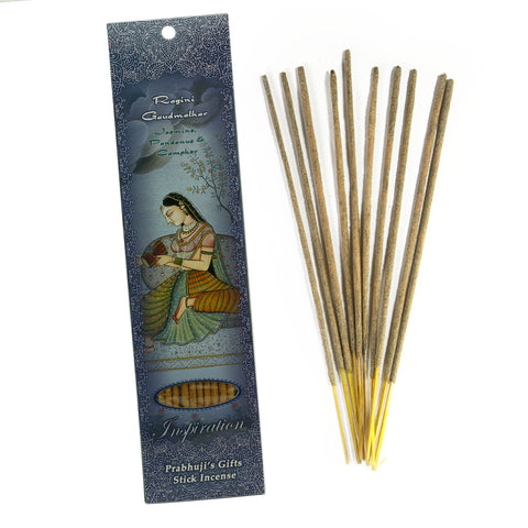 Incense Sticks Ragini Gaudmalhar - Jasmine, Pandanus, and Camphor - Inspiration