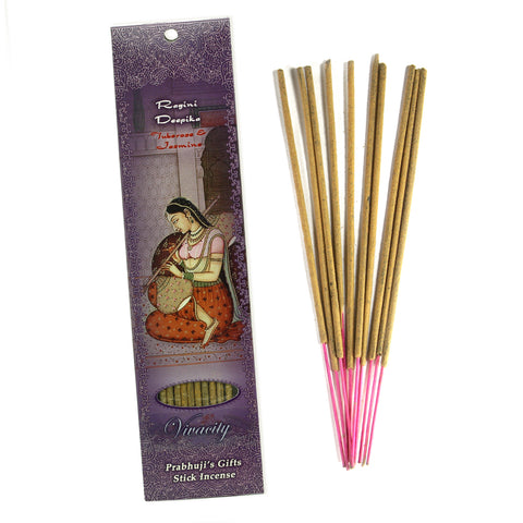 Incense Sticks Ragini Deepika - Tuberose and Jasmine - Vivacity