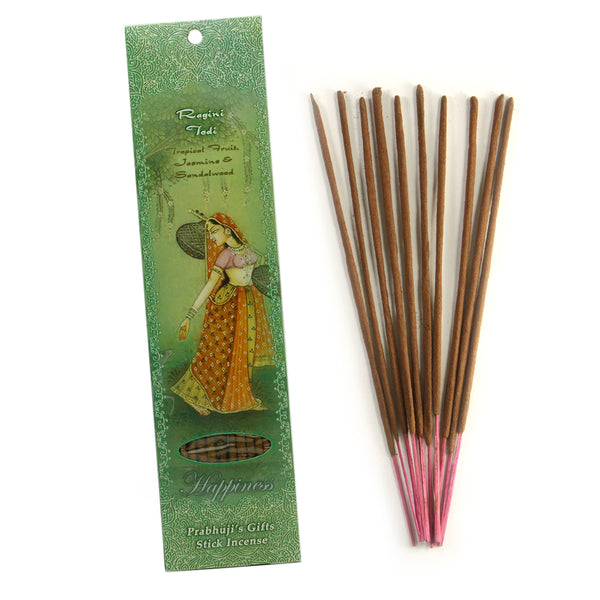 Incense Sticks Ragini Todi - Tropical Fruit, Jasmine, and Sandalwood - Happiness