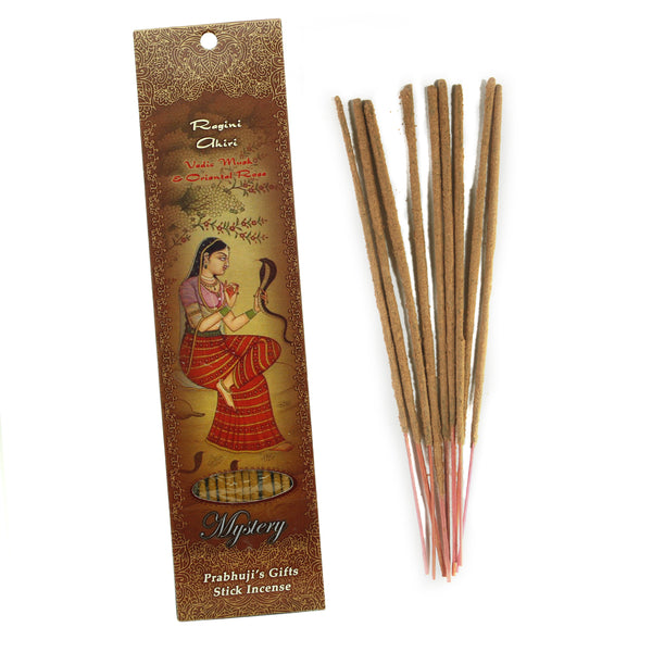 Incense Sticks Ragini Ahiri - Vedic Musk and Oriental Rose - Mystery