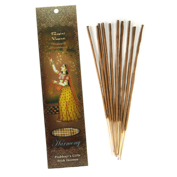 Incense Sticks Ragini Vasanti - Firdous and Sandalwood - Harmony