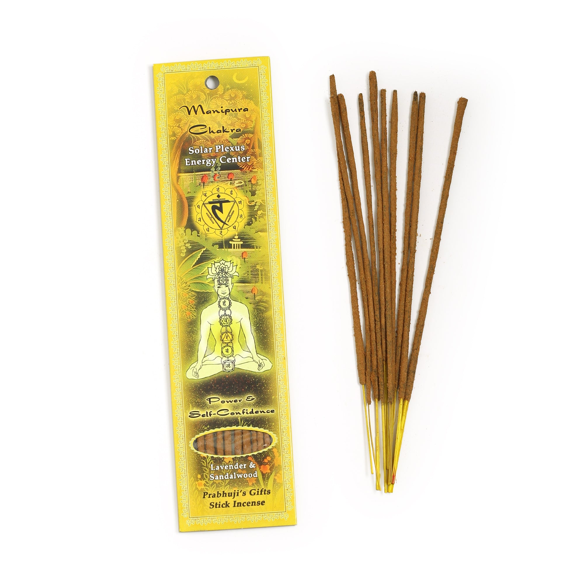 Manipura Incense Sticks Power And Self Confidence Wholesale And Retail By Prabhuji S Gifts Prabhuji S Gifts