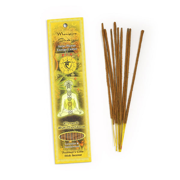 Incense Sticks Solar Plexus Chakra Manipura - Power and Self-confidence