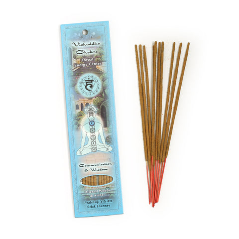 Incense Sticks Throat Chakra Vishuddha  - Communication and Wisdom