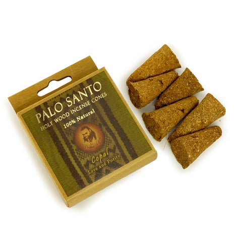 Palo Santo and Copal - Love & Purity -  6 Incense Cones