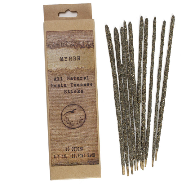 Smudging Incense - Myrrh - Natural Resin Incense sticks