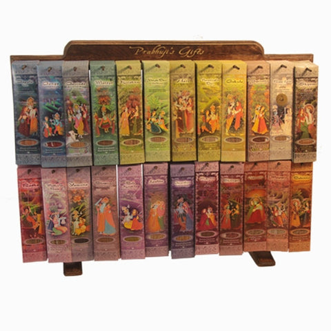 Display Rack Horizontal - 24  Fragrances Incense Sticks - 312 Packs