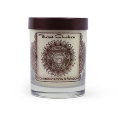 Fairtrade CHAKRA 5 Vishudda Aroma Candles
