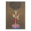 Greeting Card - Rajasthani Miniature Painting - Lakshmi Standing on Lotus - 5