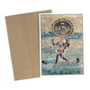 Greeting Card - Rajasthani Miniature Painting - Kali - 5