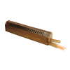 Incense Burner - Wooden Box with Storage - Decorative Jali Cover