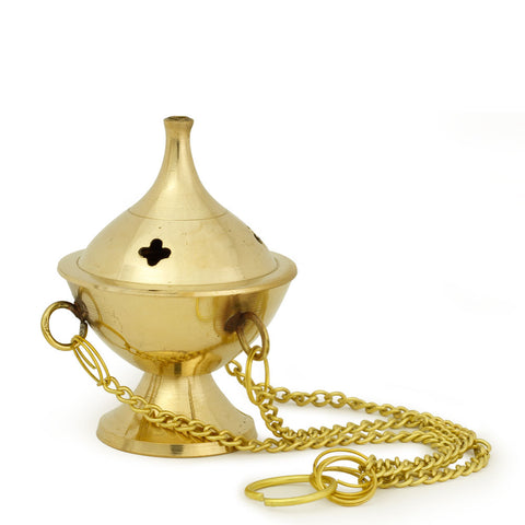 Burner - Hanging Brass Burner, Jali 2.5