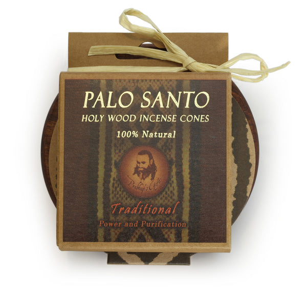 Kit - Palo Santo Traditional Cones with Burner