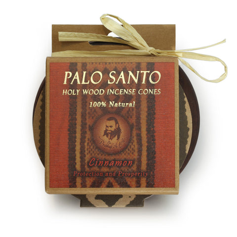Kit - Palo Santo Cinnamon Cones with Burner