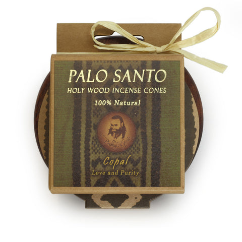 Kit - Palo Santo Copal Cones with Burner