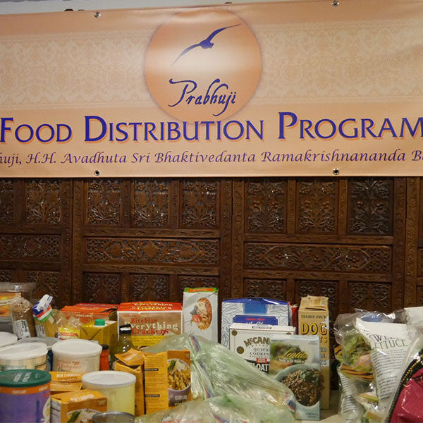 Prabhuji Food Distribution Program