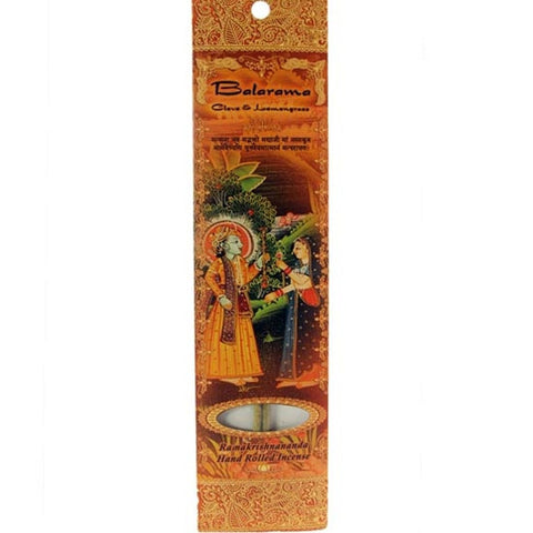 Sample Incense 2 Sticks - Balaram - Clove and Lemongrass