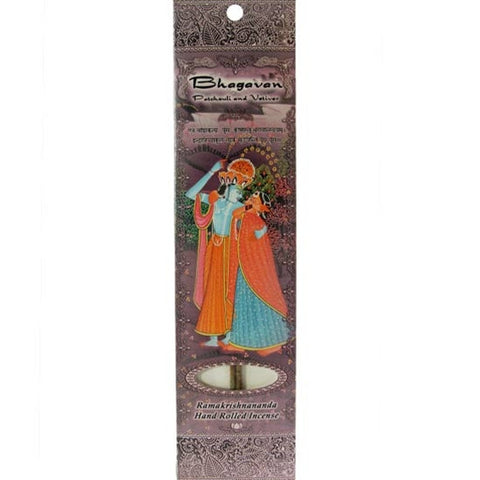 Sample Incense 2 Sticks - Bhagavan - Patchouli and Vetiver