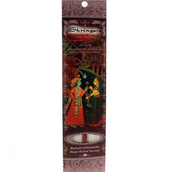 Sample Incense 2 Sticks - Shringara - Citronella, Patchouli and Geranium