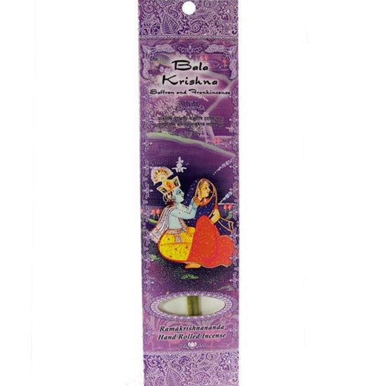 Sample Incense 2 Sticks - Bala Krishna - Saffron and Frankincense
