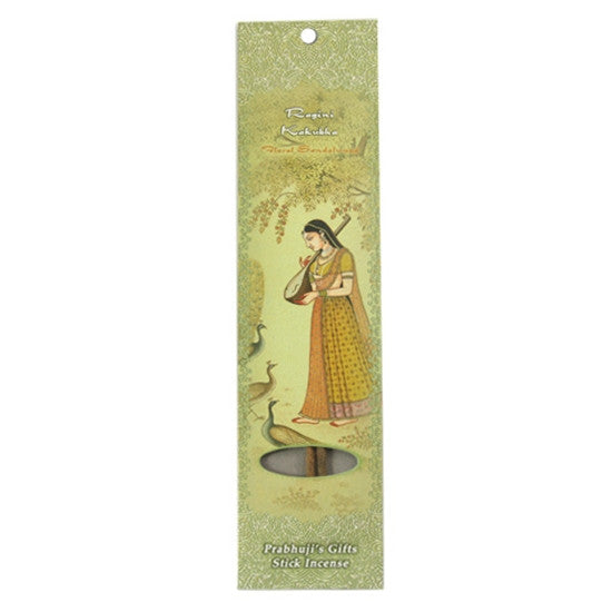 Sample Incense 2 Sticks - Ragini Kakubha - Floral Sandalwood - Ecstasy