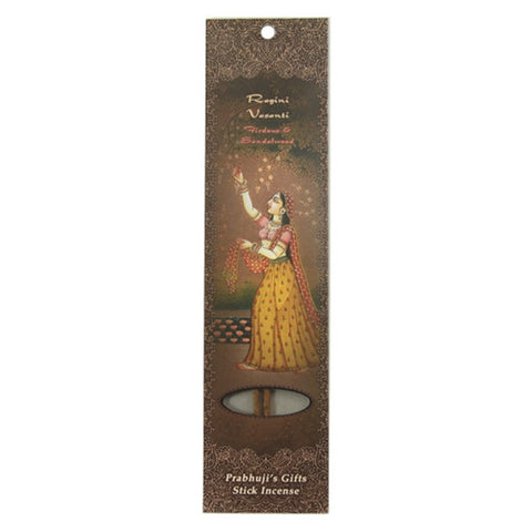 Sample Incense 2 Sticks - Ragini Vasanti - Firdous and Sandalwood - Harmony