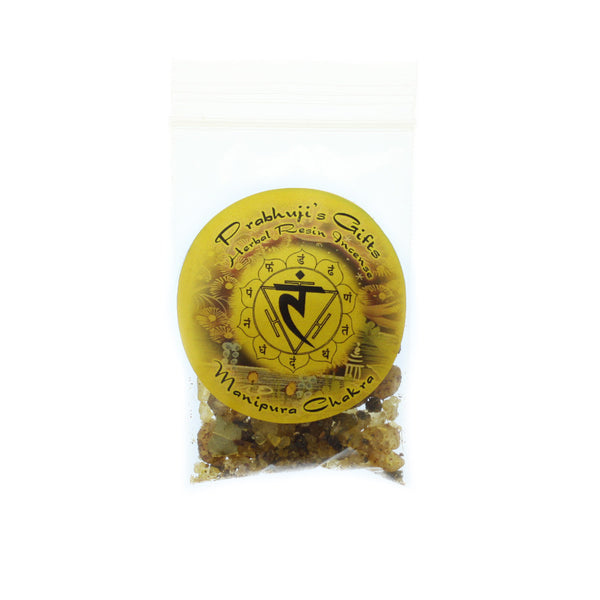 Sample Resin Incense Solar Plexus Chakra Manipura - Self-confidence and Transformation